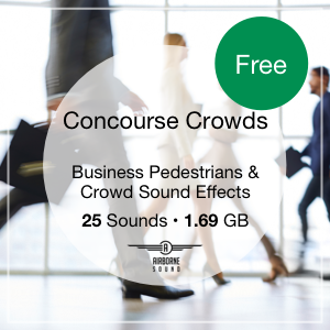 Concourse Crowds Sound Library