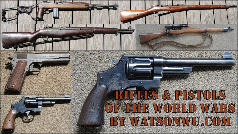 Watson Wu Rifles and Pistols