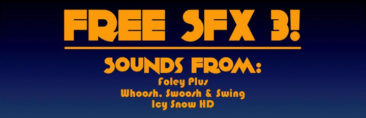 Soundopolis FREE SFX 3 Banner Kilogram 720