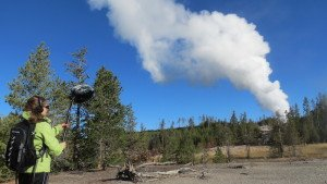 Recording Yellowstone geysers