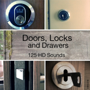 Listen to a New Sound Clip Bundle of Doors, Locks and Drawers