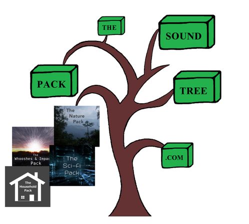 The Sound Pack Tree - Logo