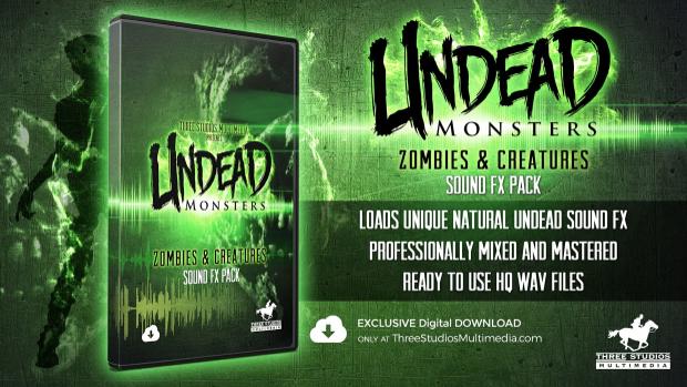 Three Studios Multimedia - Undead Monsters