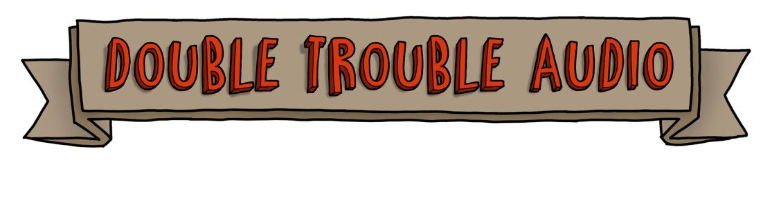 Double Trouble Audio - Logo