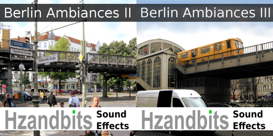 Hzandbits Sound Effects - Berlin Ambiances II and III