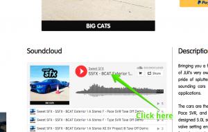 SES Click to SoundCloud page
